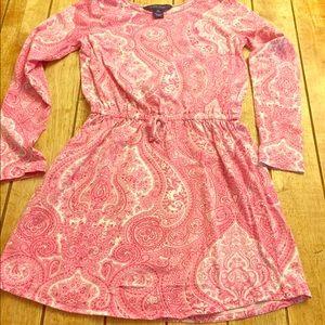 Ralph Lauren | Pink Paisley | Girls 8 |